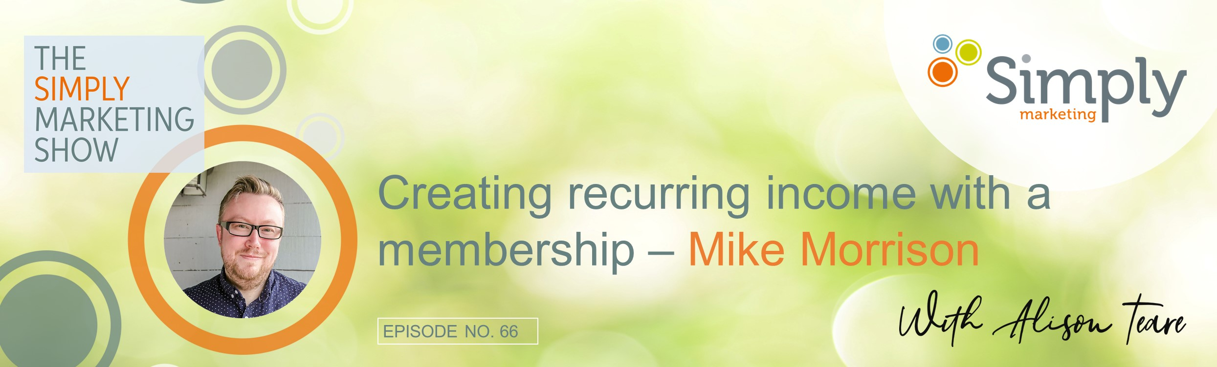 recurring income with a membership