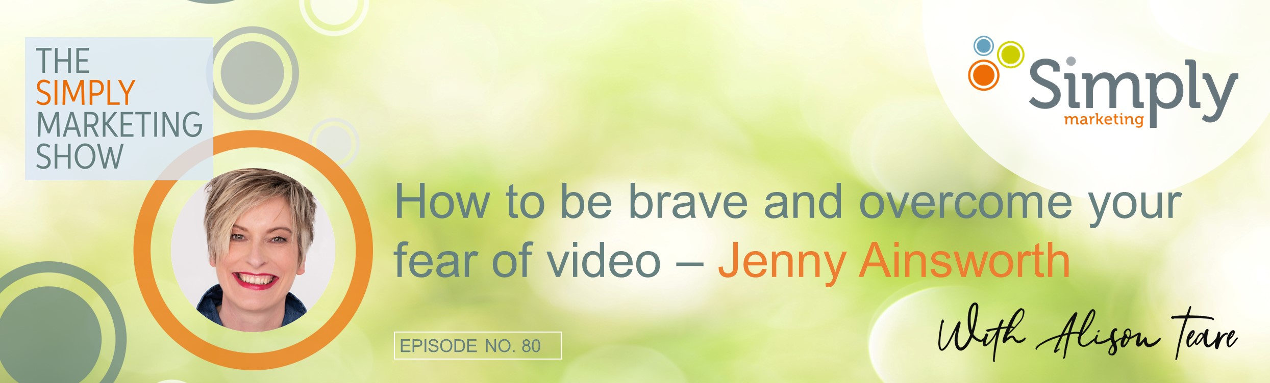 overcome your fear of video